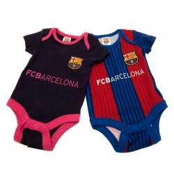 Kojenecké body Barcelona FC (2 ks) (typ VS) velikost 0-3 měsíce
