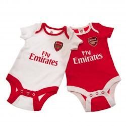 Kojenecké body Arsenal FC (2 ks) (typ CP) velikost 6-9 měsíců