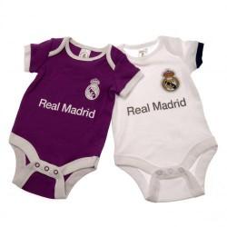 Kojenecké body Real Madrid FC (2 ks) (typ PL) velikost 6-9 měsíců