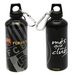 Láhev na pití Barcelona FC hliníková černá