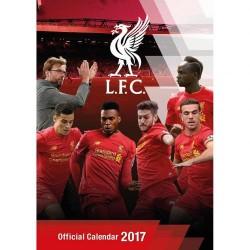 Velký kalendář 2017 Liverpool FC