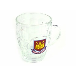 Pivní sklenice s uchem West Ham United FC (typ TK)