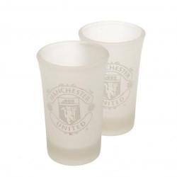 Sada 2ks skleniček panáků Manchester United FC (typ FR)