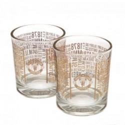 Sada 2 skleniček na whisky Manchester United FC (typ TX)