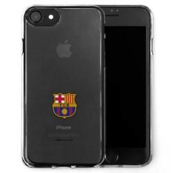 Kryt průhledný na iPhone 7 Barcelona FC